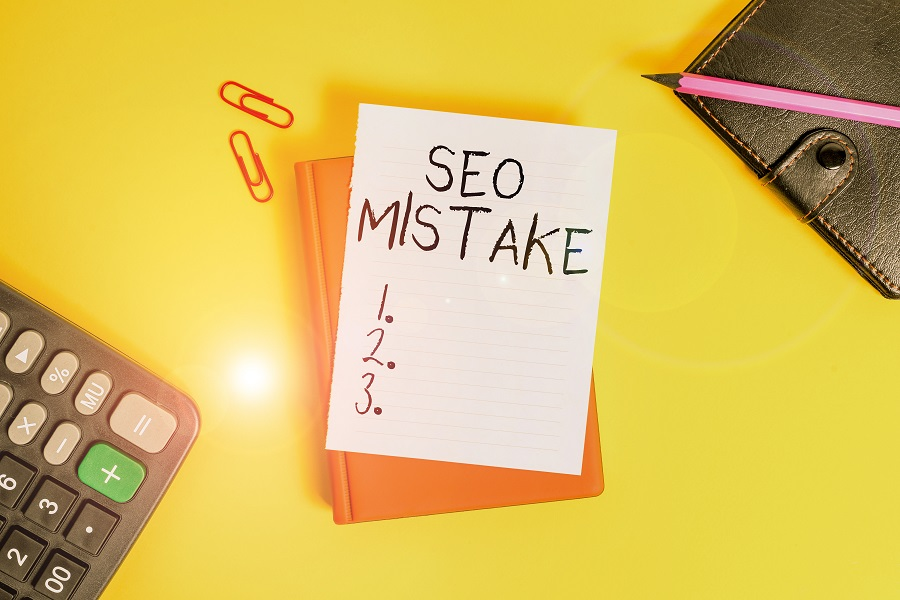 5 Beginner Mistakes Most Small Businesses Make in SEO